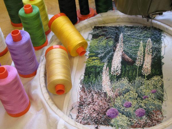 Free Hand Machine Embroidery | AURIbuzz
