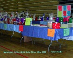 Penny Raffle Tables