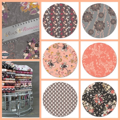 Rock and Romance fabrics used