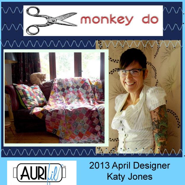 2013 Katy Jones April Aurifil designer button