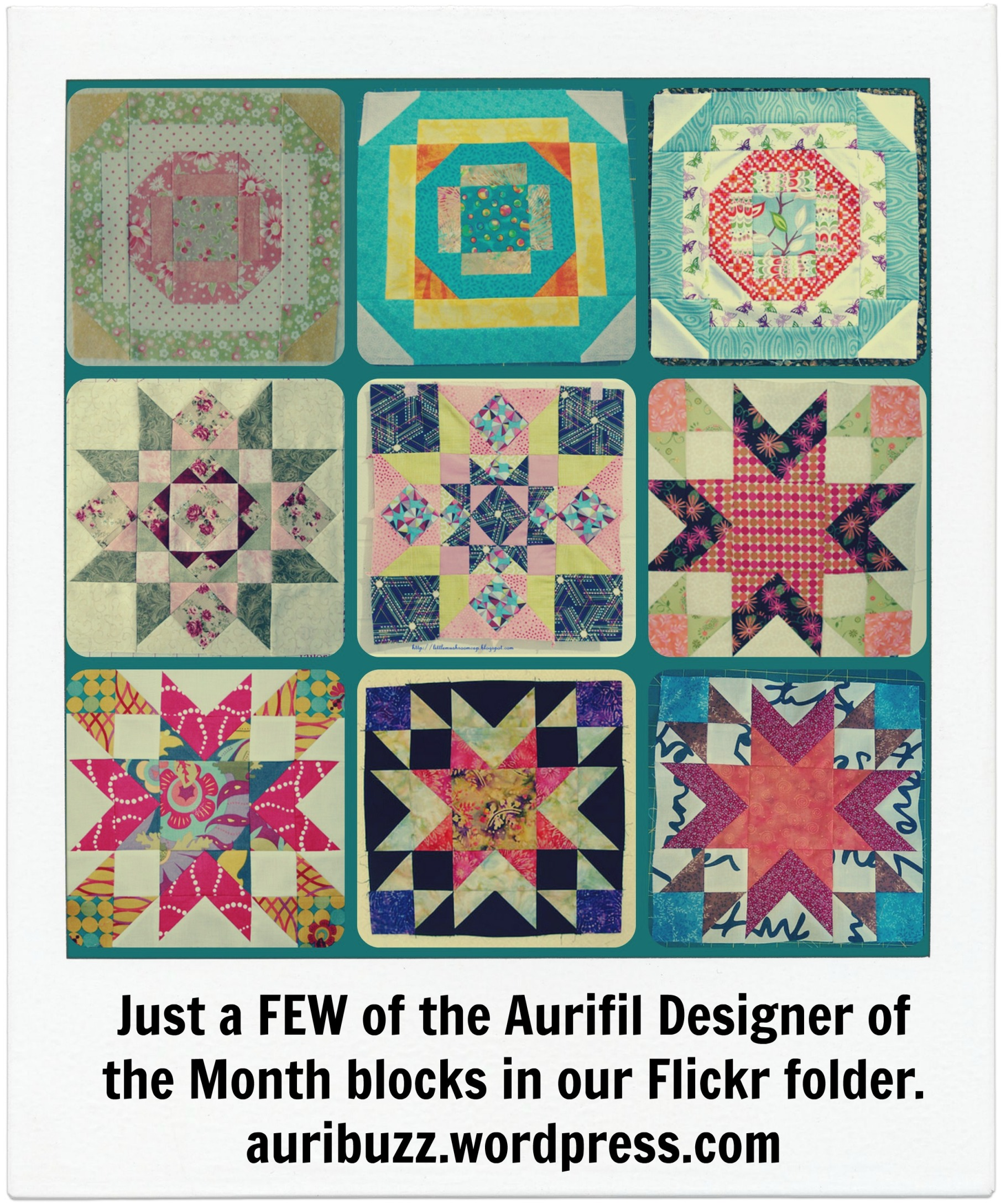 Are you Caught up on your Designer of the Month blocks?
