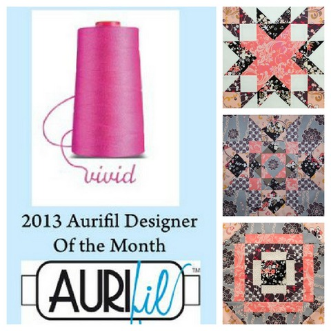 Aurifil DOM jan feb mar blocks