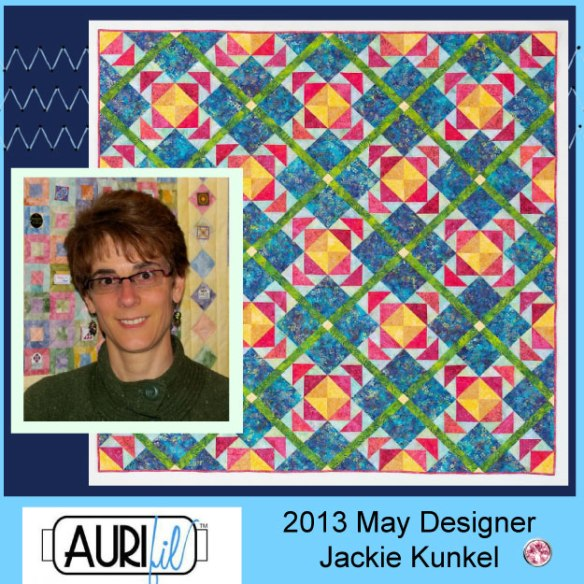 2013 Jackie Kunkel May Aurifil designer button