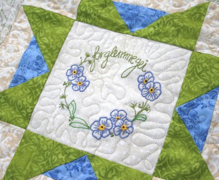 13- Flora Nordica BOM-aurifil12wt for stitchery-Wenche