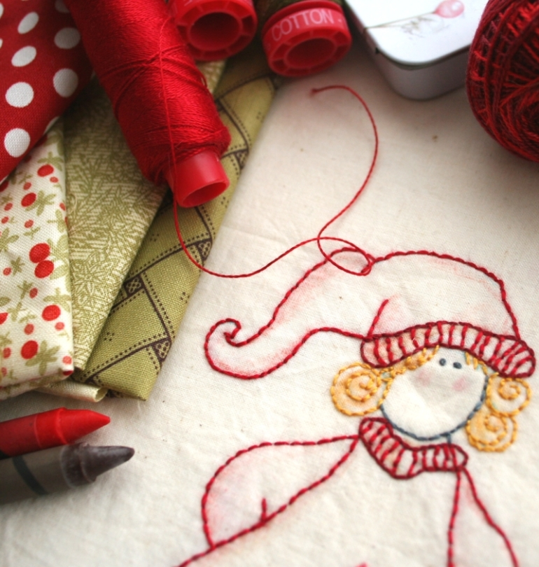 7- christmas stitcheries-wenche