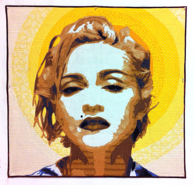 [Iconography #8] Material Girl  36%22 X 36%22