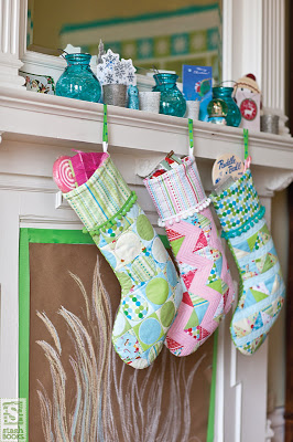 MOdern Holiday Stockings 2