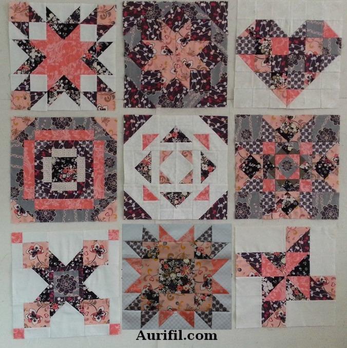 2013 aurifil jan to sept blocks