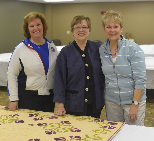Photo 3 AQS QuiltWeek 2013 Judges Kimberly Einmo Libby Lehman Velda Newman