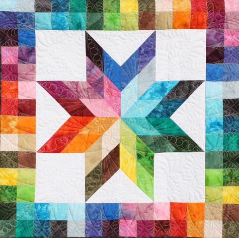 Photo 6 - Checkerboard Rainbow Star