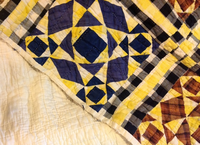 2 old quilt