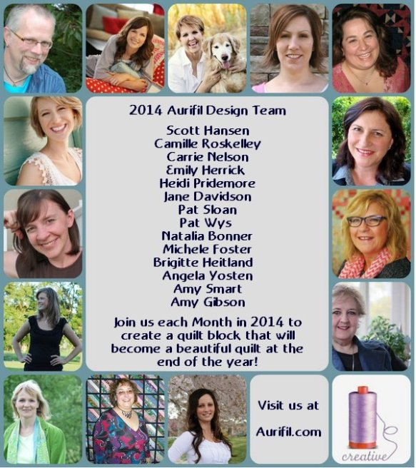 Aurifil 2014 Design team announcement
