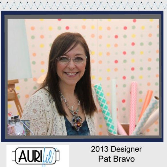 2013 aurifil designer Pat Bravo