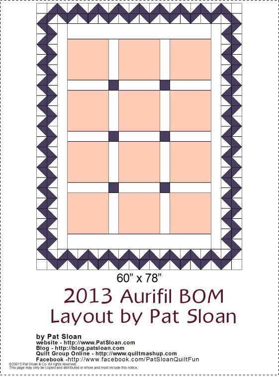 2013 Aurifil DOM setting layoutv2