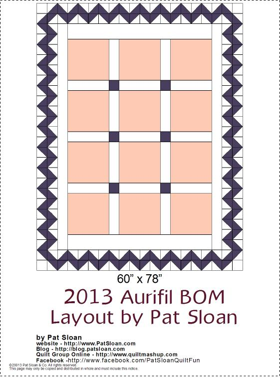 2013 Aurifil DOM setting layoutv2