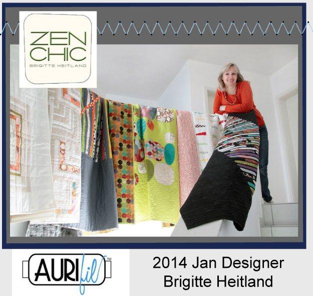 2014 Brigitte Heitland Zen Chic Jan aurifil designer button