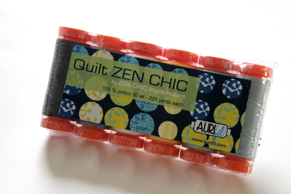 Zen Chic Aurifil thread