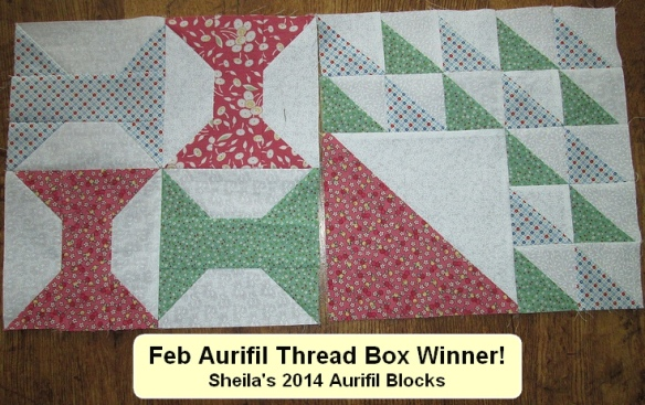 NSquilter Sheila block feb winner
