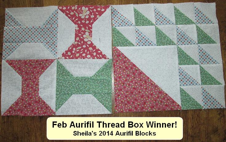 NSquilter Sheila block feb winner