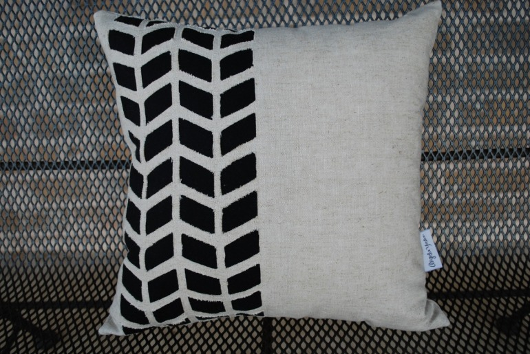 07 - Tire Tracks Pillow
