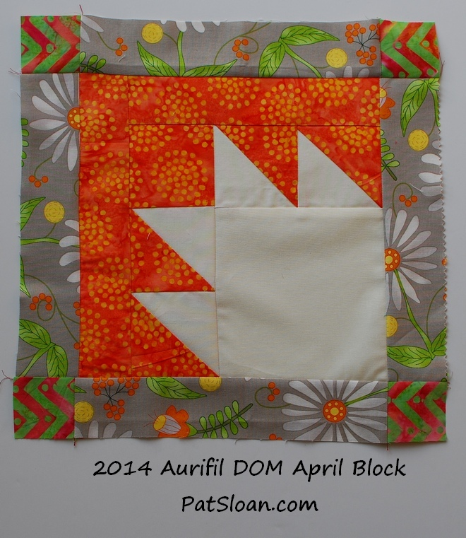 pat sloan 2014 apr aurifil block