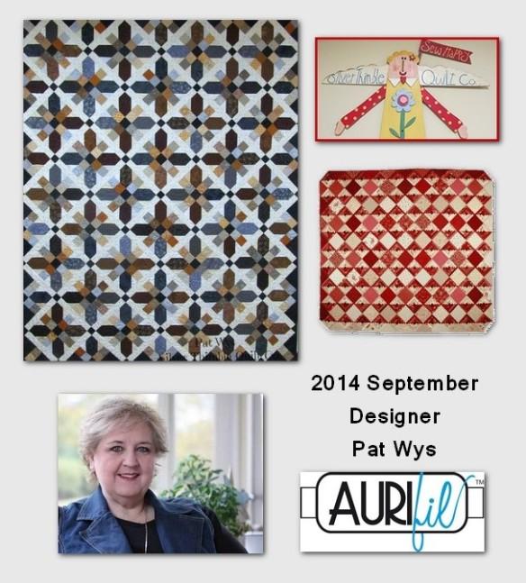 2014 Pat Wys aurifil designer button