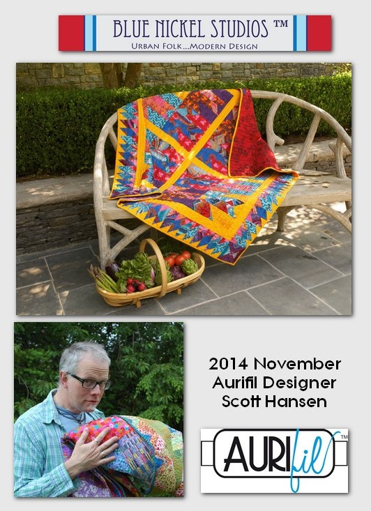aurifil Nov designer of the month Scott Hansen