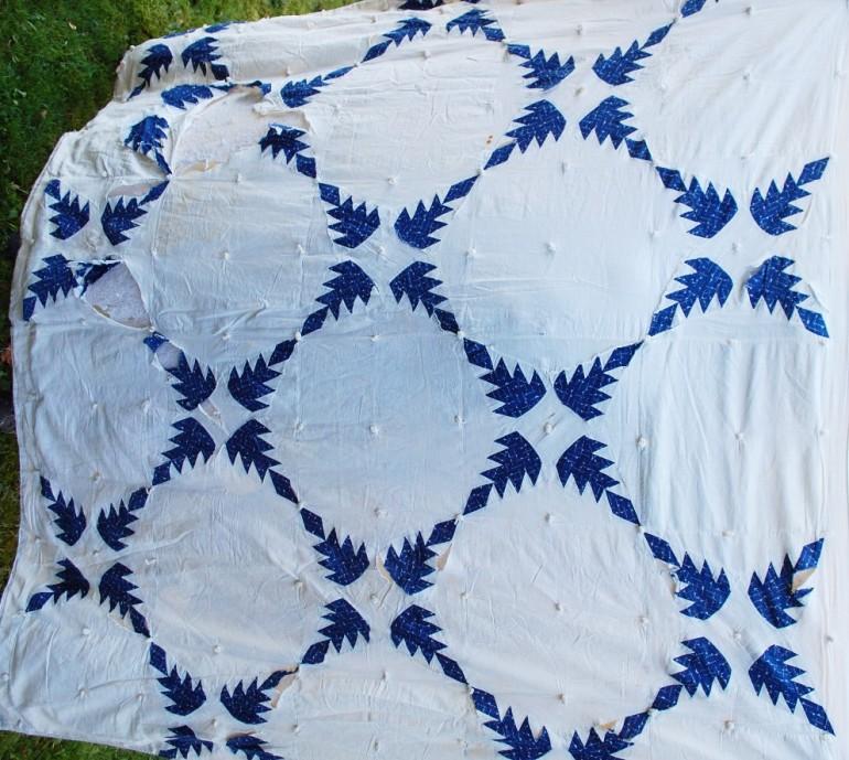 very first quilt seen6