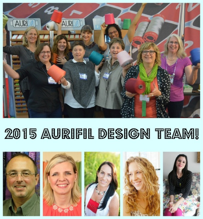 Aurifil 2015 Design Team collage
