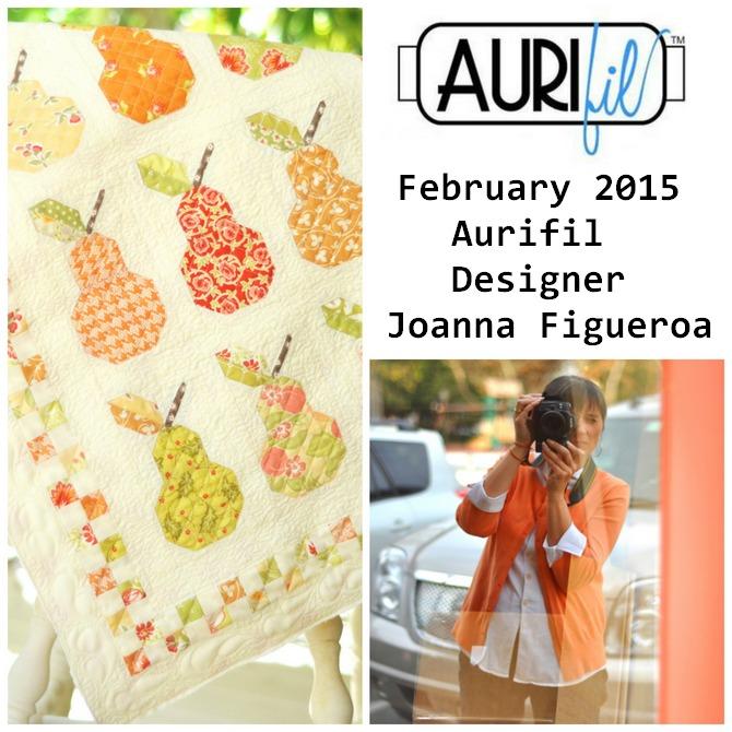 Aurifil Feb 2015 Designer of the Month  Joanna Figueroa collage