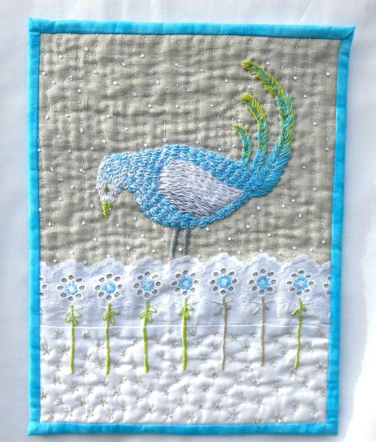 Sheena bird quilt