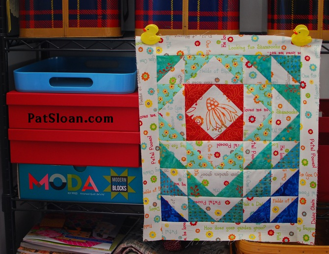 pat sloan aurifil mar mini 1