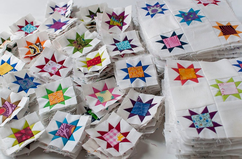 04 aurifil designer 3 stacks of stars