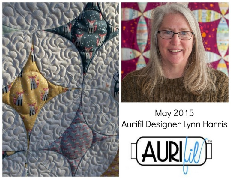 Aurifil May 2015 Aurifil Designer Lynn Harris collage