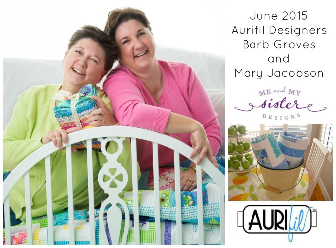 Sharing Pat Sloan's Interview with Aurifil's Designer(s) of the Month for June 2015