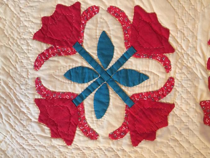 #2 First Quilt Detail
