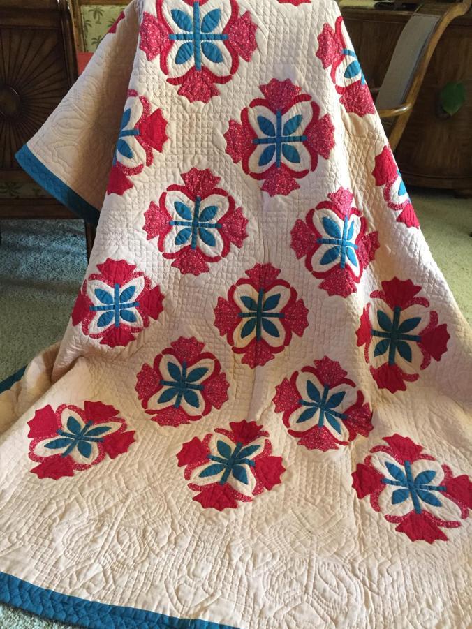 #2 First Quilt