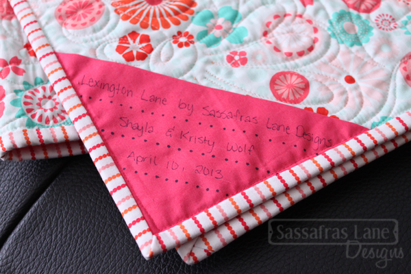 Quilting Label Ideas : Top Ten Tuesday { Quilt Labels, Display and Storage} AURIbuzz