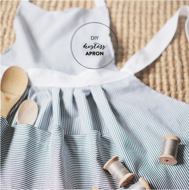 DIY Apron from Style Me Pretty