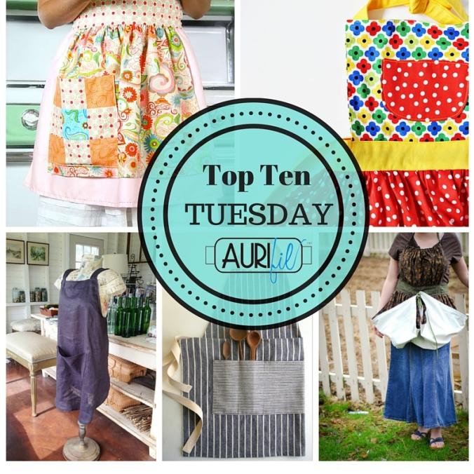 Top Ten Tuesday Aprons