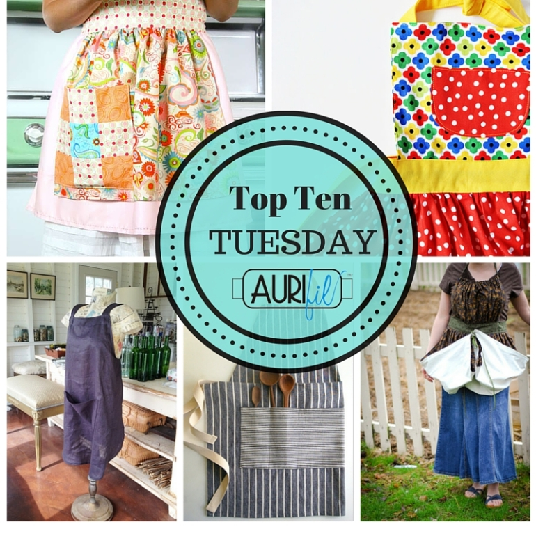 Top Ten Tuesday Aprons