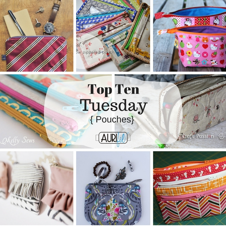 Top Ten Tuesday Pouches