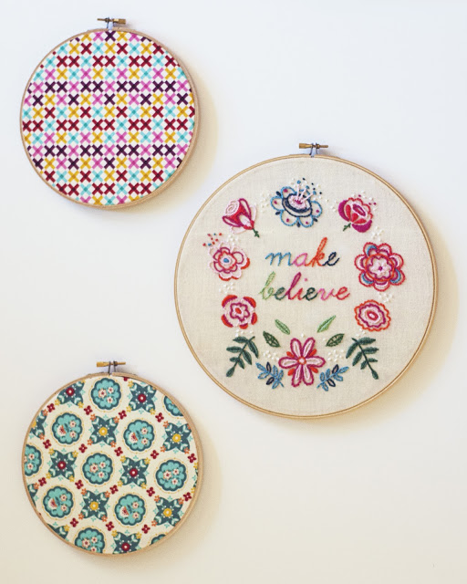Make Believe Embroidery project