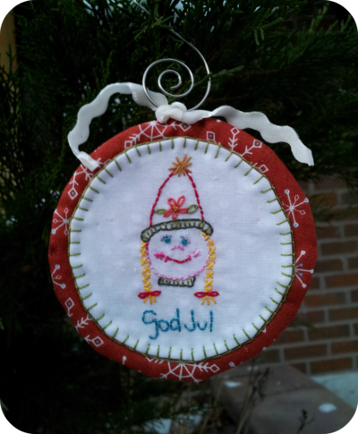 Swedish Girl Ornament