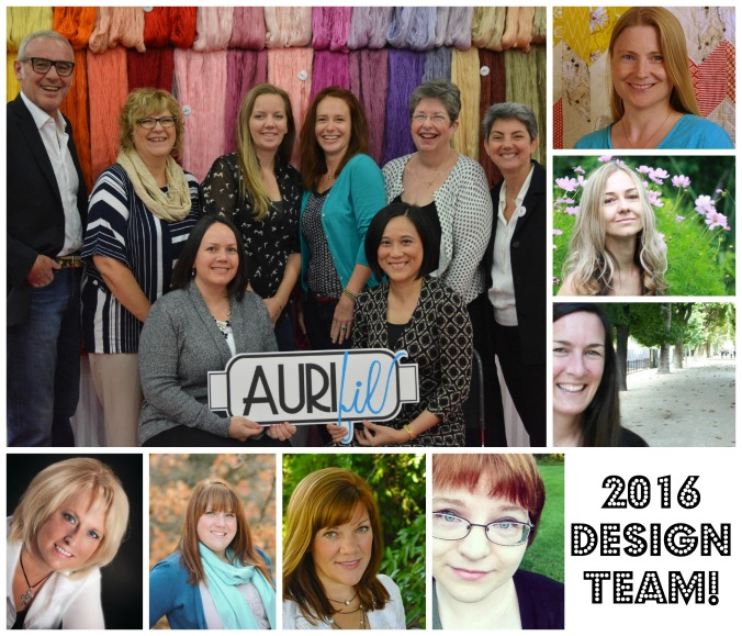 Aurifil 2016 Design Team photo
