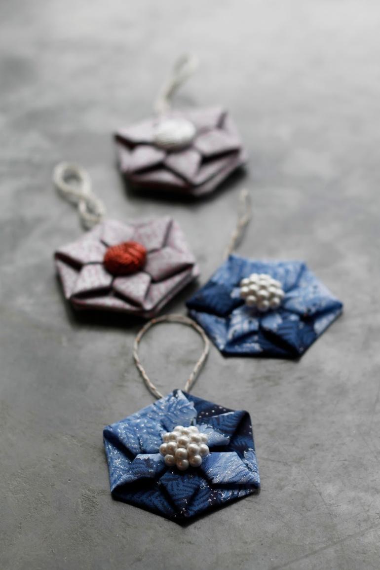 Fabric Origami4