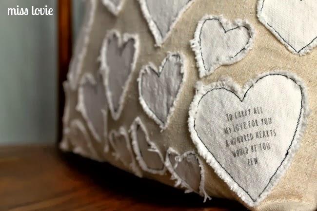12 Valentine's Day Heart Pillow