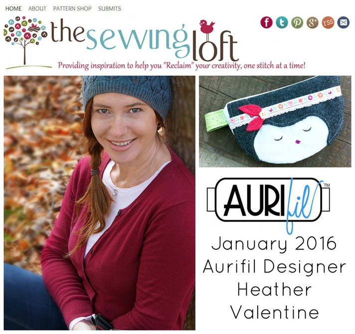 Aurifil 2016 Design Team January Heather Valentine