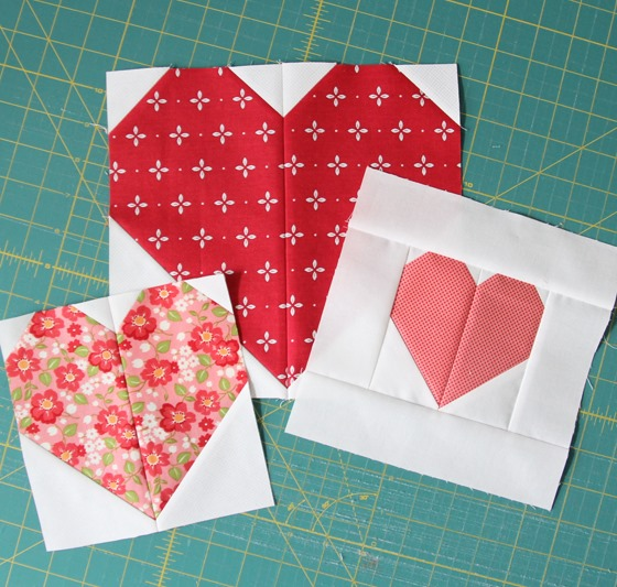 Heart Blocks in Multiple Sizes