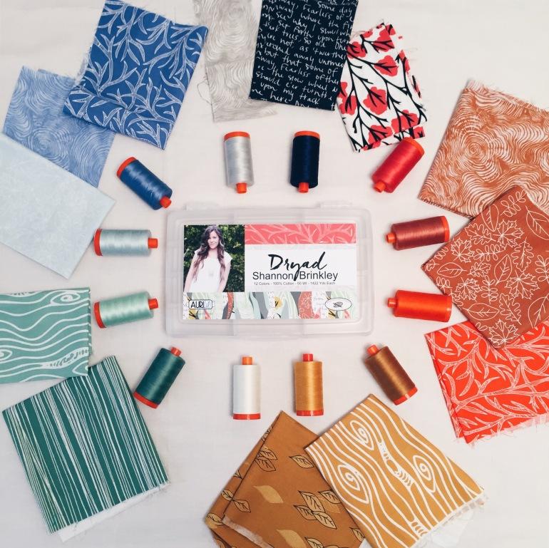 Dryad - Fabrics and Threads
